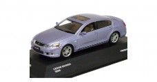 Lexus GS450 Light Blue 2006 1:43  J Collection JC38003HBL