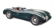 Jaguar C-Type year 1952-1953 British Racing green 1:18 CMC M-191