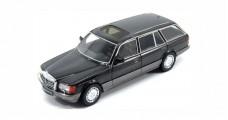 Mercedes 560SEL Kombi (W126) 1990 Black 1:43 KES 43037020