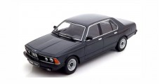 BMW 733i E23 1977 Black Metallic 1:18 KK-Scale KKDC180101