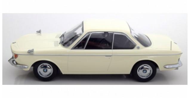 KK-Scale KKDC180121 BMW 2000 CS coupe 1965 Cream Hite 1:18 scale