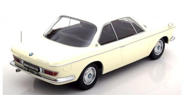 kk scale kkdc180121 bmw 2000 cs coupe 1965 cream hite 1 18. Black Bedroom Furniture Sets. Home Design Ideas