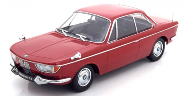 BMW 2000 CS coupe 1965 Dark Red 1:18 KK-Scale KKDC180122