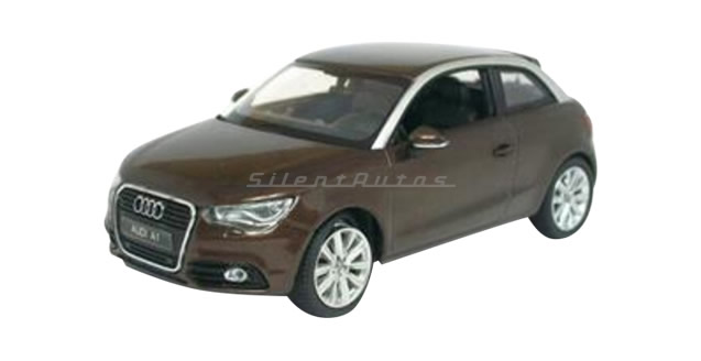 Audi A1 Teak Brown Metallic 1:43 Kyosho 03801TBR