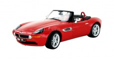 BMW Z8 Red 1:18 Kyosho 08511R