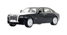 Rolls Royce Ghost Extended Wheelbase Diamond Black 1:43 Kyosho KY05551DBK