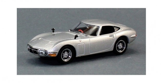 Toyota 2000GT 1970 Silver 1:43 Kyosho 03039S