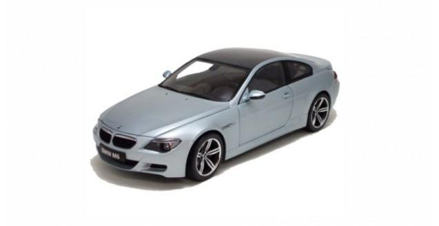 BMW M6 Silver 1:43 Kyosho 03513S