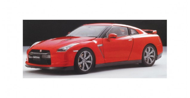 Nissan GT-R R35 2008 Red 1:43 Kyosho 03741R