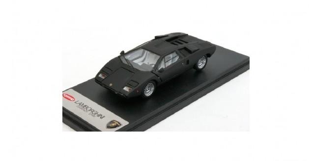 Lamborghini Countach LP400 Matt Black 1:43 Kyosho 04101BK