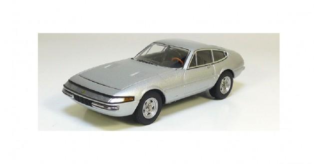 Ferrari 365GTB/4 Silver 1:43 Kyosho 05051S