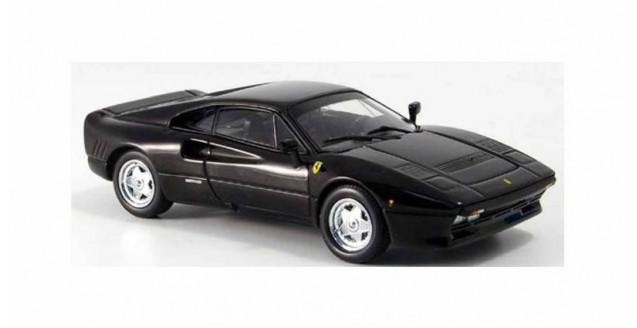 Ferrari 288 GTO 1984 Black 1:43 Kyosho 05071BK