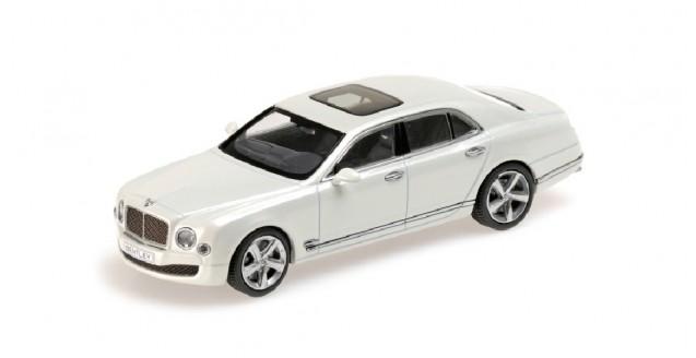 Bentley Mulsanne Speed White 2014 1:43 Kyosho 05611GW
