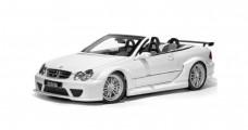 Mercedes Benz CLK Cabriolet AMG White 1:18 Kyosho 08462W