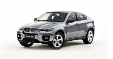BMW X6 Xdrive 5.0 Grey 1:18 Kyosho 08761SG