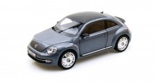 Volkswagen New Beetle Coupe Grey 1:18 Kyosho 08811PGR