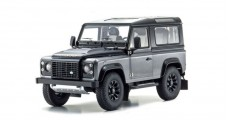Land Rover Defender 90 Final Edition Grey 1:18 Kyosho 08901CGR