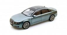 Audi A8 W12 2010 Grey 1:18 Kyosho 09231QGR