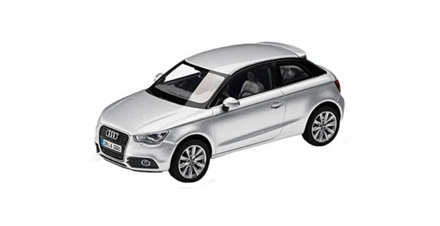 Audi A1 Silver 1:43 Kyosho 5011001013