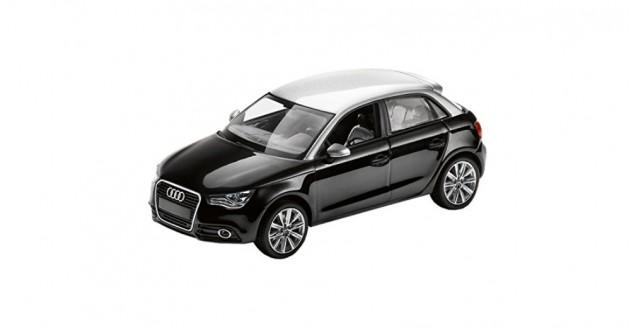 Audi A1 Sportback Black 1:43 Kyosho 5011201033