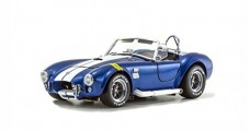 AC Cobra Blue with Yellow Line Shelby Cobra 427SC 1:18 Kyosho 8045BLY