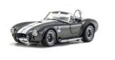 AC Cobra Grey White Line Shelby Cobra 427SC 1:18 Kyosho 808045GRW