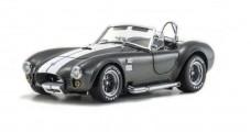 AC Cobra Grey White Line Shelby Cobra 427SC 1:18 Kyosho 808045GRW