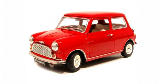 Morris Mini Minor 1959 Red 1:18 Kyosho 8105R