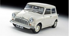 Morris Mini Minor 1959 White 50Th Anniversary Edition 1:18 Kyosho 8105W