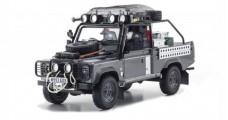 Land Rover Defender TOMB RAIDER EDITION Grey 1:18 Kyosho 8902TR