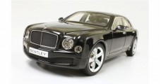 Bentley Mulsanne Speed Year 2014 black 1:18 Kyosho 8910NX