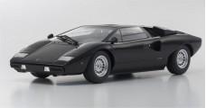 Lamborghini Countach LP400 Black 1:18 Kyosho 9531BK