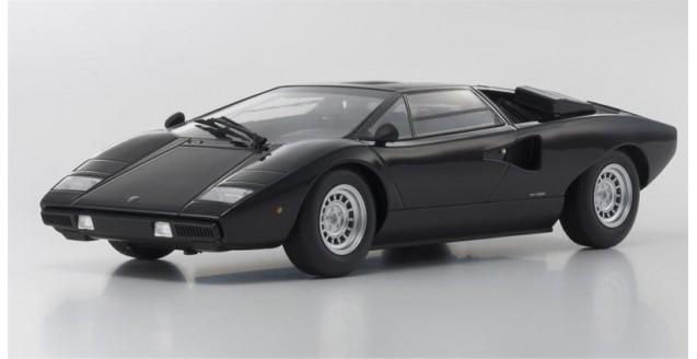 Kyosho 9531bk Lamborghini Countach Lp400 Black 1 18