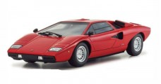 Lamborghini Countach LP400 Red 1:18 Kyosho 9531R