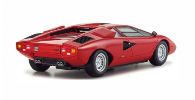 Kyosho 9531r Lamborghini Countach Lp400 Red 1 18