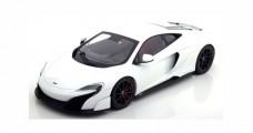 McLaren 675 LT 2015 White 1:18 Kyosho 9541W