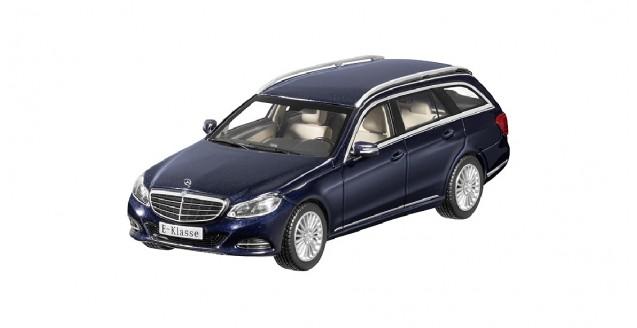Mercedes E-Klasse Estate 2013 Blue 1:43 Kyosho B66960189