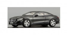 Mercedes S-Class C217 Coupe 2014 Black 1:43 Kyosho B66961240