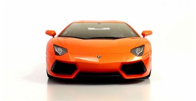 Kyosho KSR08661P Lamborghini Aventador LP700-4 Orange Metallic 1:12