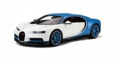 Bugatti Chiron White Blue 1:12 Kyosho KSR08664W-Z