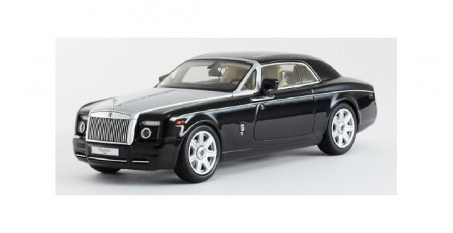 Rolls Royce Phantom Drophead Coupe Black 1:43 Kyosho KY05532BKU