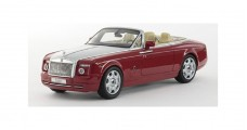 Rolls Royce Phantom Drophead Ensign Red 1:43 Kyosho KY05532ER