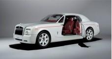 ROLLS-ROYCE Phantom Coupe White 2012 1:18 Kyosho KY08861EW