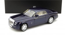 Rolls Royce Phantom Coupe 2012 Blue 1:18 Kyosho KY08861PBL