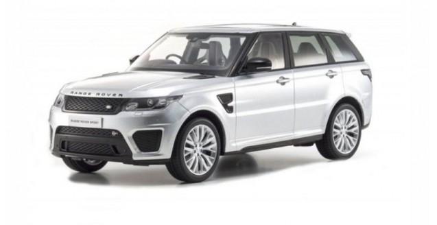 Range Rover Sport SVR  Indus Silver 1:18 Kyosho   KY9542S