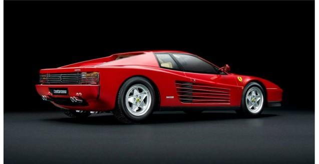 Ferrari Testarossa 1984 Rouge Red 1:18 Kyosho PHR1801R