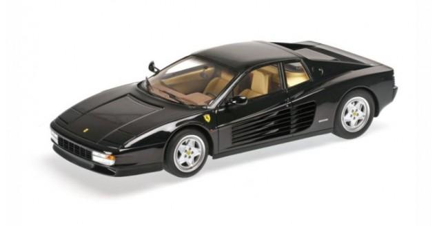 Ferrari Testarossa Year 1989 Black 1:18 Kyosho PHR1801bk