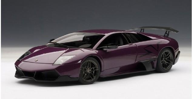 Autoart 74628 Lamborghini Murcielago Lp670 4 Sv Purple 1 18