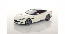 Ferrari Portofino 2017 Avus with Nero DS Roof White 1:43 LookSmart LS480F
