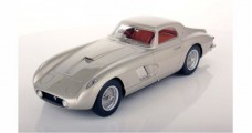 FERRARI 375MM BERLINETTA PININFARINA 1954 Ingrid Bergman Silver With Display Case 1:18 LookSmart LS18FC06